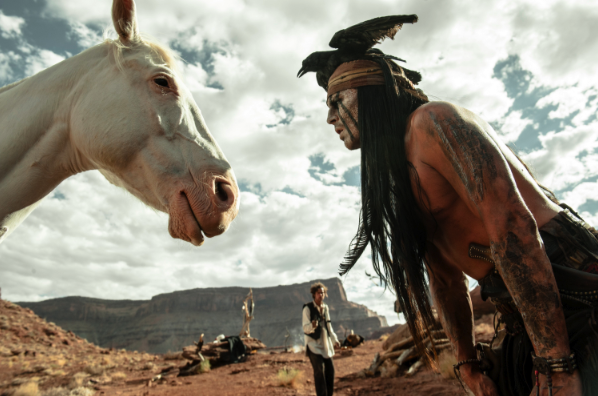 "From ""The Lone Ranger"""